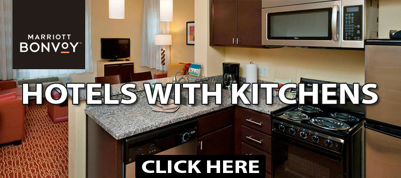 vacation ideas during coronavirus marriott hotels with kitchens