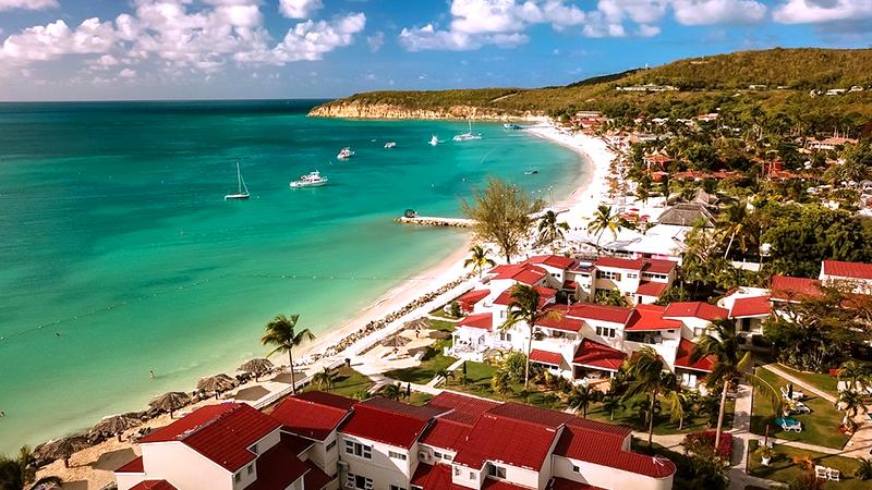 best caribbean july resorts village condominium beach resort antigua