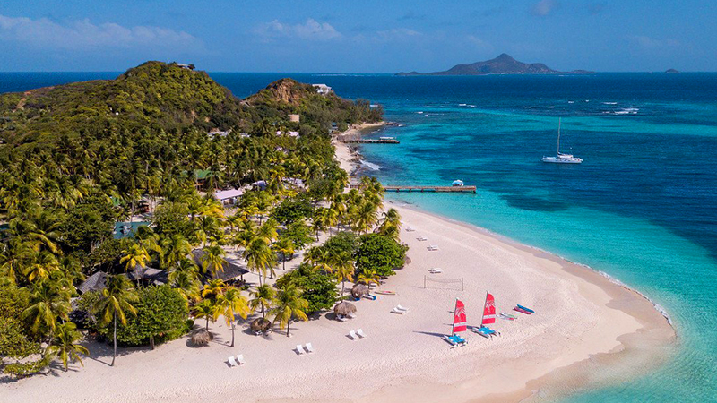 top caribbean july resorts palm island resort and spa st. vincent and grenadines