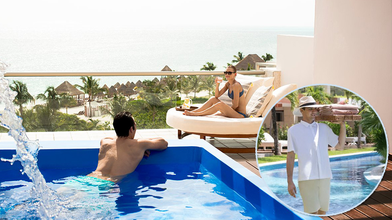 top butler service at caribbean resorts excellence playa mujeres all inclusive hotel mexico