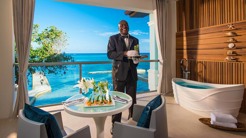 best caribbean resorts with butler service sandals montego bay jamaica all inclusive vacation