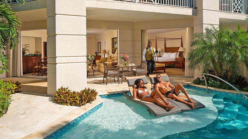 top caribbean butler service resorts sandals royal barbados all inclusive luxury hotel