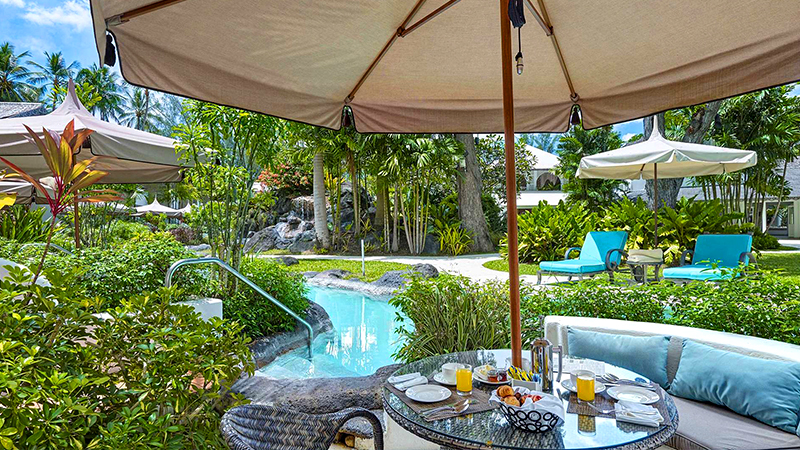 top caribbean resorts swim-up suites colony club by elegant hotels