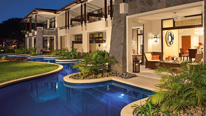 top caribbean resorts swim-up suites dreams las mareas costa rica
