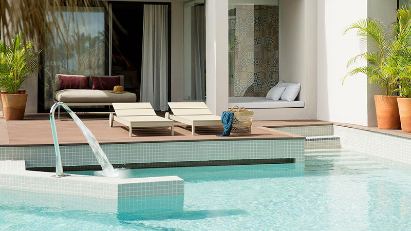 top caribbean resorts swim-up suites excellence el carmen dominican republic