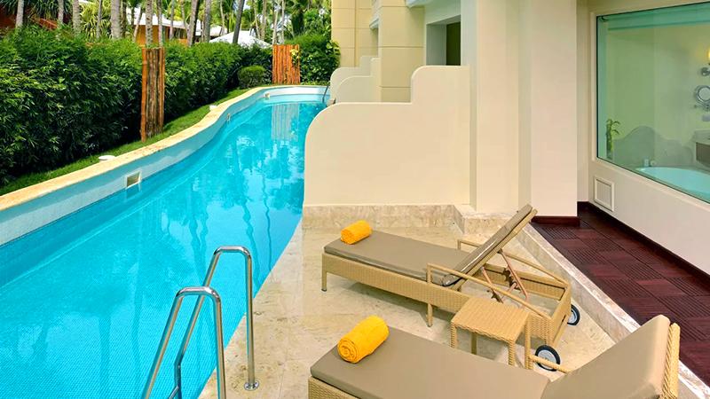 best caribbean resorts swim-up suites iberostar grand bavaro dominican republic
