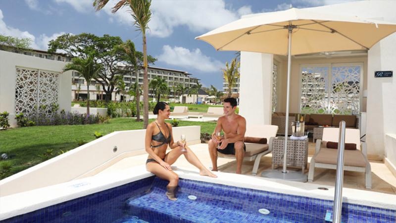 best caribbean resorts swim-up suites royalton saint lucia