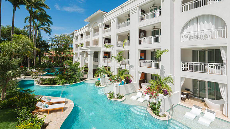 best caribbean hurricane-free resorts sandals barbados couples only escape
