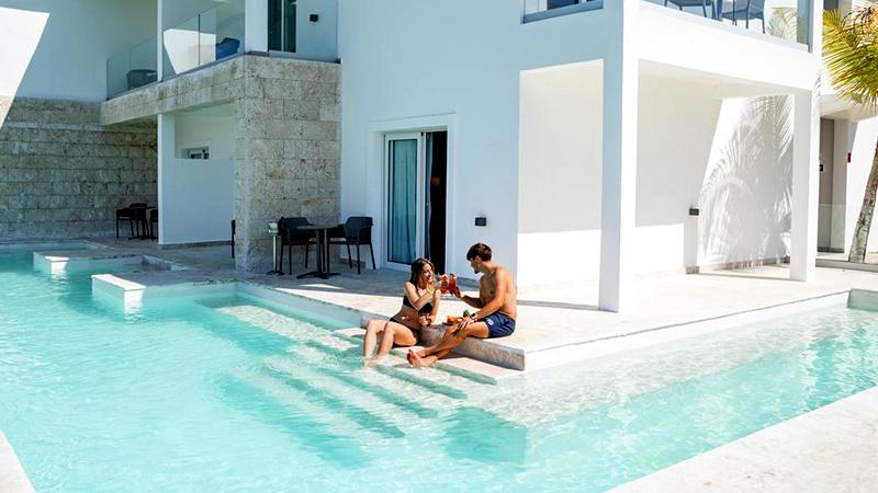 top caribbean resorts swim-up suites senator puerto plata spa and resort dominican republic