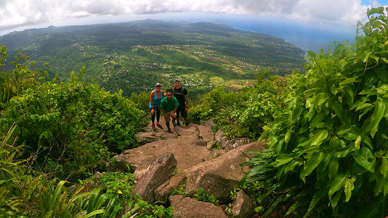 majestic gros piton hike excursion