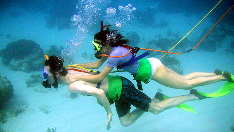 top things to do in castries st lucia snuba adventure at pigeon island tour