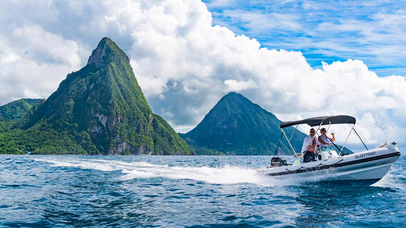 best things to do in castries st lucia speedboat and power snorkel tourism