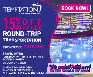 temptation cancun mexico topless travel deals