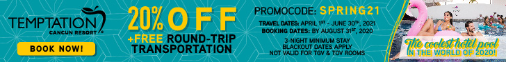 temptation cancun couples only vacation deals