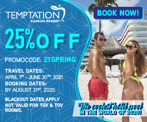 temptation cancun mexico adult only vacation deals