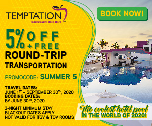 temptation cancun nude travel deals