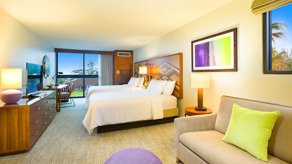 hilton garden inn kauai wailua bay hawaii luxury hotel