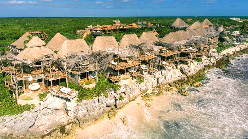 azulike tulum adults naturism travel mexico