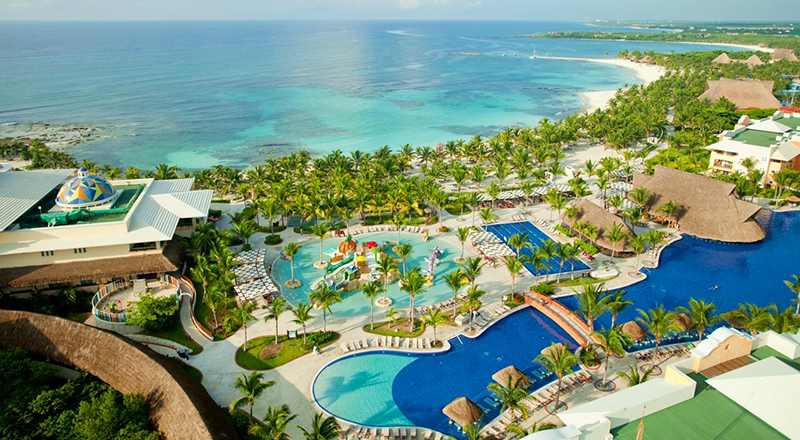 caribbean resorts for august barceló maya palace all inclusive vacation
