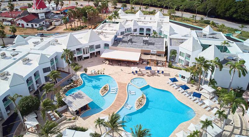 best caribbean resorts for august courtyard aruba resort
