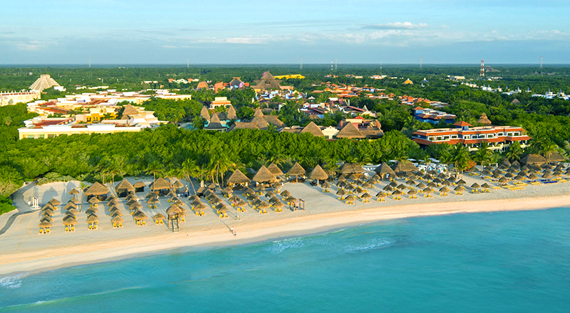 caribbean resorts for august iberostar selection paraiso lindo all inclusive beachfront mexico hotel