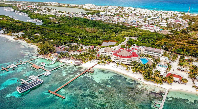 top caribbean resorts for august isla mujeres palace mexico adults only vacation