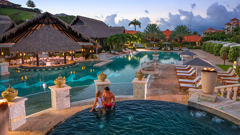 caribbean resorts for great sex sandals grenada couples only getaway