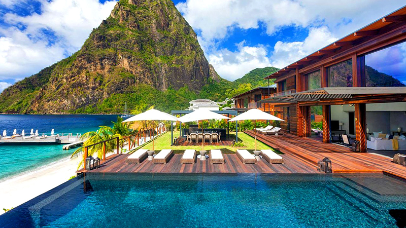 best caribbean resorts for great sex sugar beach a viceroy resort st lucia couples romance escape