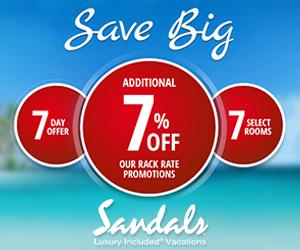 sandals save best vacation deals