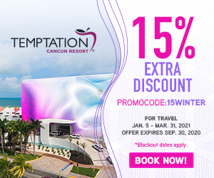 temptation topless optional travel deals