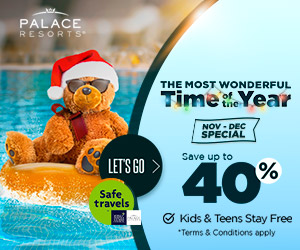 palace most wonderful time christmas vacation deals