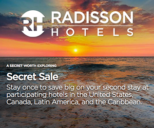 radisson secret sale best vacation deals
