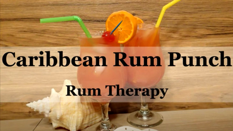 tropical drinks caribbean rum punch vacation alcohol