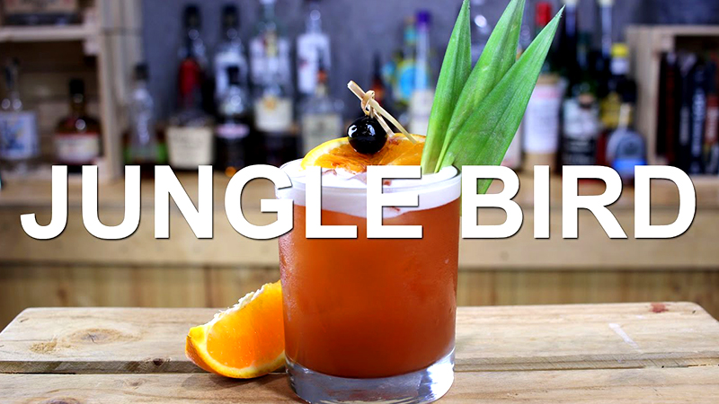 best tropical drinks jungle bird vacation cocktail