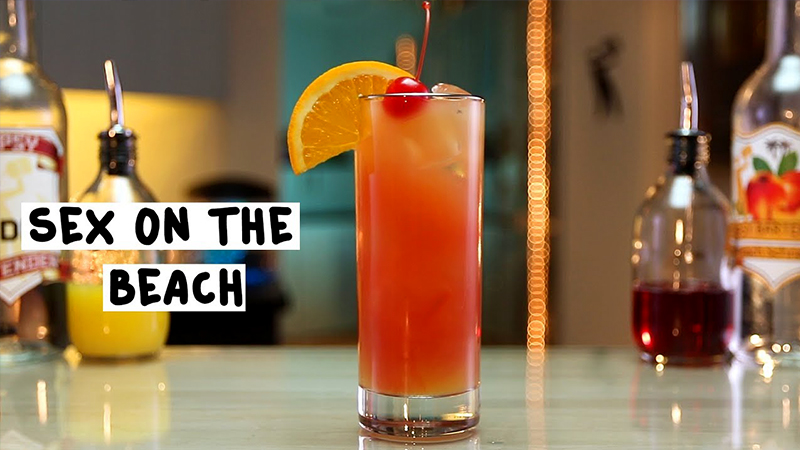 best tropical drinks sex on the beach vacation cocktail