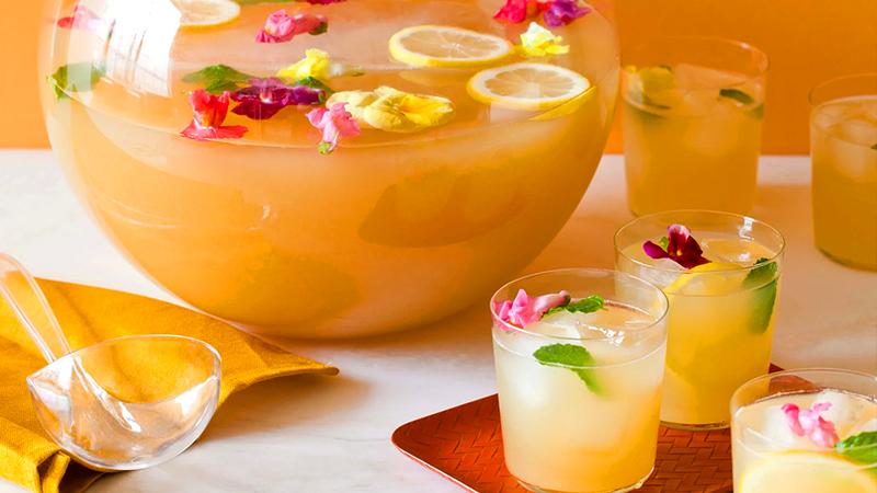 tropical drinks tiki punch