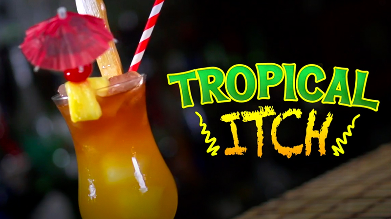 tropical drinks tropical itch fun cocktail