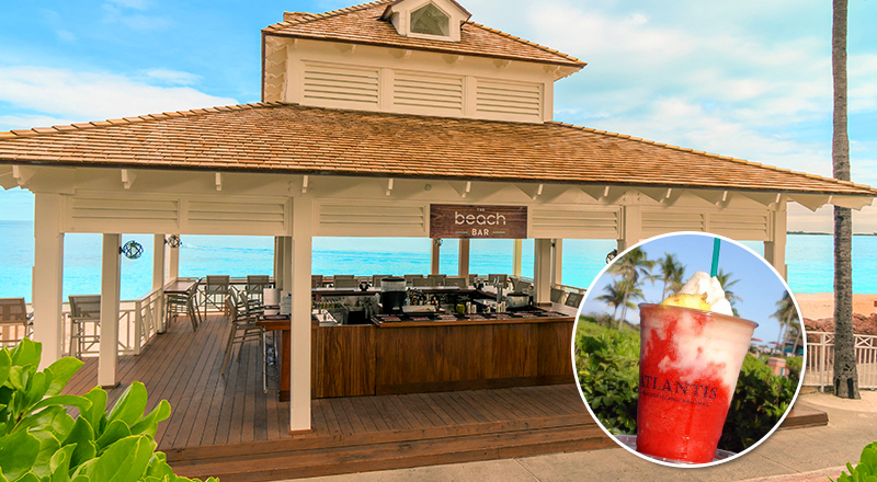 top beach bars at caribbean resorts atlantis paradise island bahamas