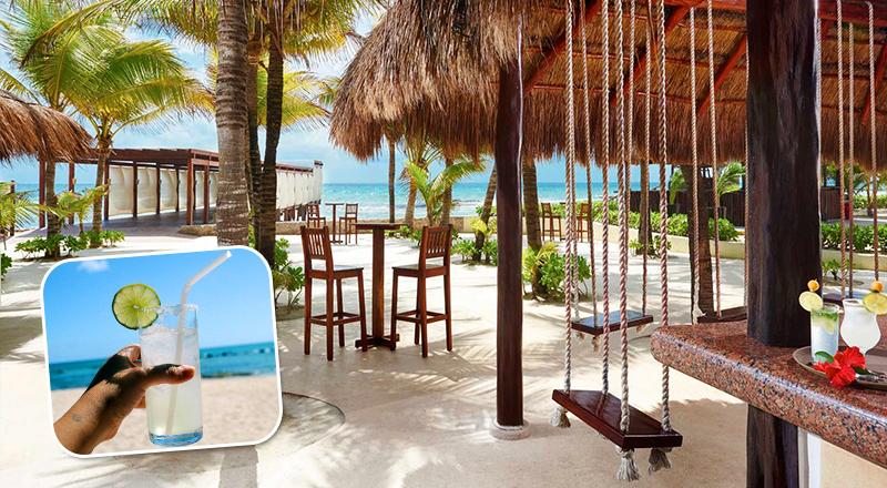 beach bars at caribbean resorts el dorado casitas royale mexico all inclusive