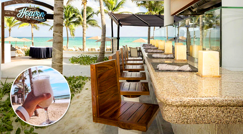 top beach bars at caribbean resorts grand residences riviera cancun mexico
