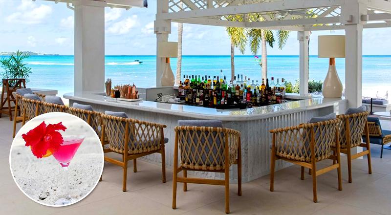 beach bars at caribbean resorts jumby bay antiqua luxury hotel