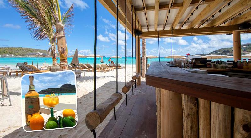 beach bars at caribbean resorts pearl beach hotel st barthélemy