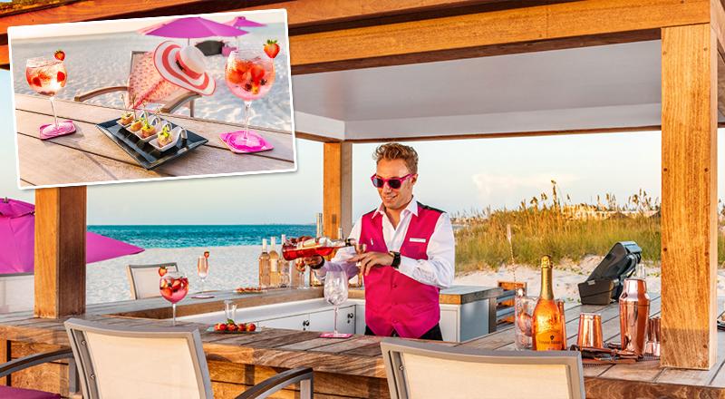 beach bars at caribbean resorts wymara resort villas all inclusive vacation turks and caicos