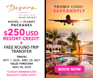 desire pearl hotel flight packages mexico deals
