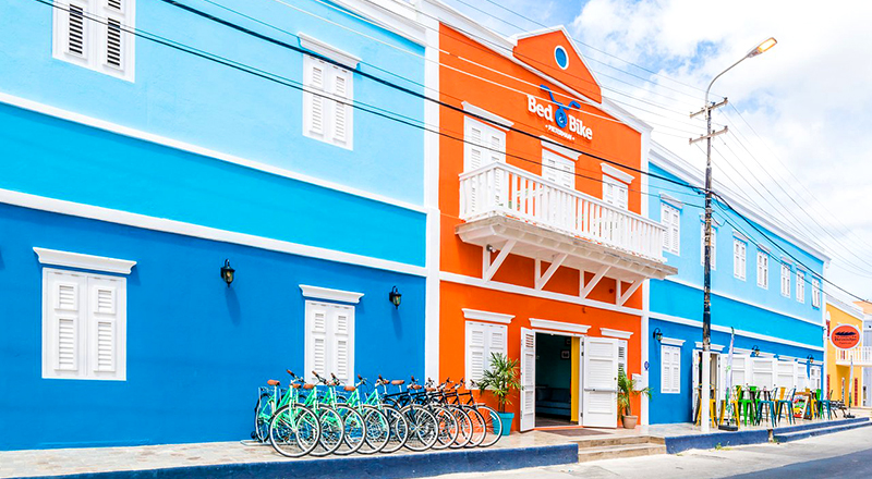 top hotels in willemstad curaçao bed & bike curacao family travel