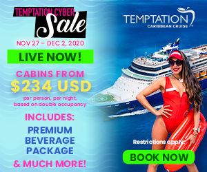 temptation caribbean cruise 2022 cyber sale adult vacation topless