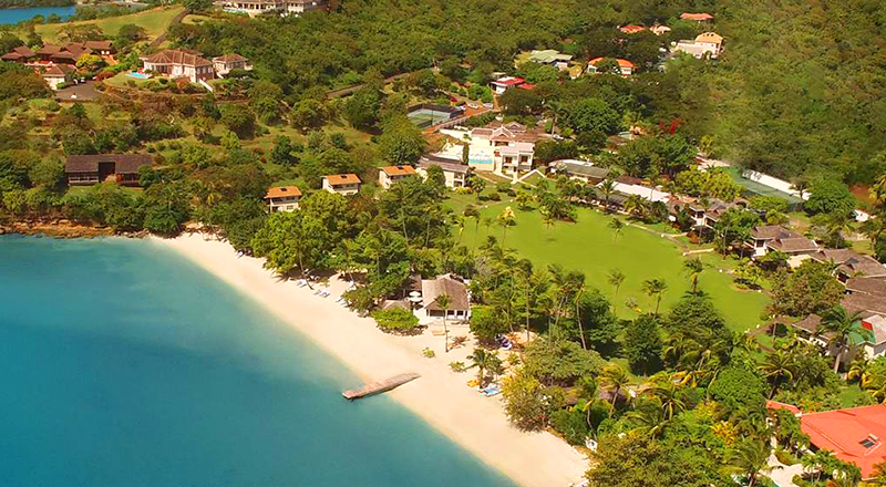 caribbean resorts for december calabash luxury boutique hotel grenada family travel