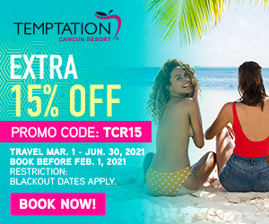 temptation cancun resort mexico clothing optional beach getaway deals