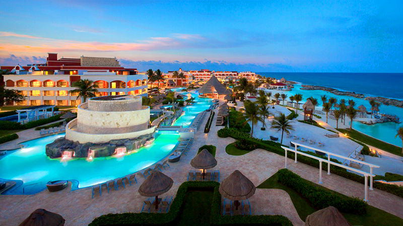 best caribbean party hotels hard rock hotel riviera maya mexico all inclusive vacation