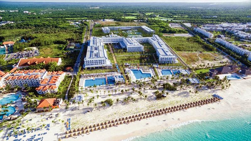 best caribbean party hotels hotel riu republica punta cana dominican republic luxury travel